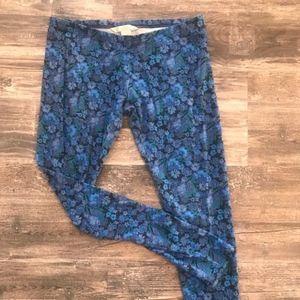 Blue Floral Lauren Conrad Leggings